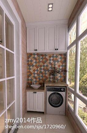 精选面积105平现代三居阳台装修设