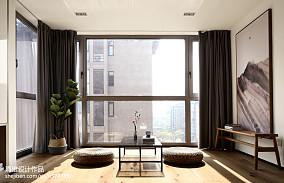 2020精选面积93平日式三居客厅装饰