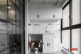 热门面积92平北欧三居阳台装修实