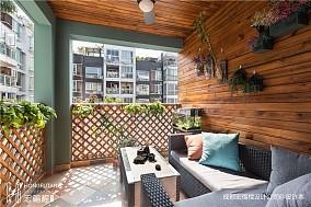 繁简美式阳台设计图片