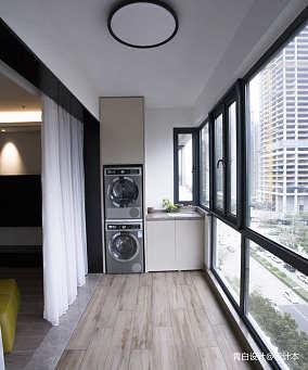2020现代简约三居151-200m²阳台装饰