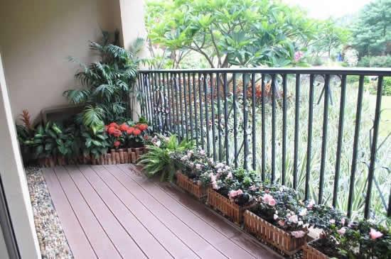 【鑫之家装饰】绿色清新三居室装修双阳台完美展示