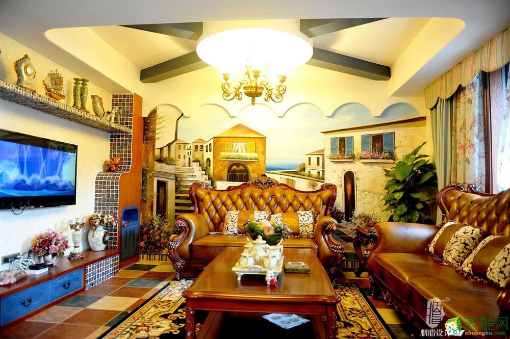 美式跃层住宅装修效果图美式风格