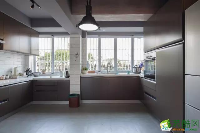 148平混搭风格装修效果图混搭风格三室两厅两卫展示