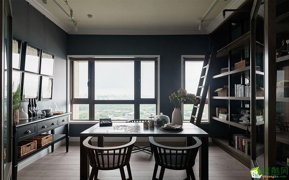 【融发装饰】旭阳台北城古典风格三室两厅两卫展示