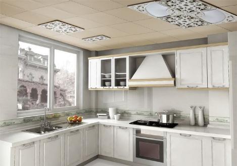 厨房装修究竟要不要装吊顶