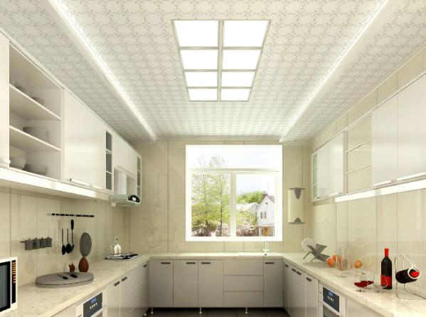厨房装吊顶遮电线